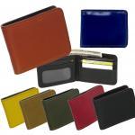 กระเป๋าสตางค์ หนังแท้ 2พับ แบบสั้น (7 สีตามความเชื่อ) ขนาดมาตราฐาน เหมาะสำหรับผู้ชาย | รุ่น - SN029