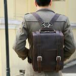 กระเป๋าเดินทาง กระเป๋าเป้ ทรงนักเรียน สวยเท่ห์ๆแบบไม่ซ้ำใคร หนังวัวแท้ หนัง NUBUCK เป็นที่นิยมในประเทศญี่ปุ่น