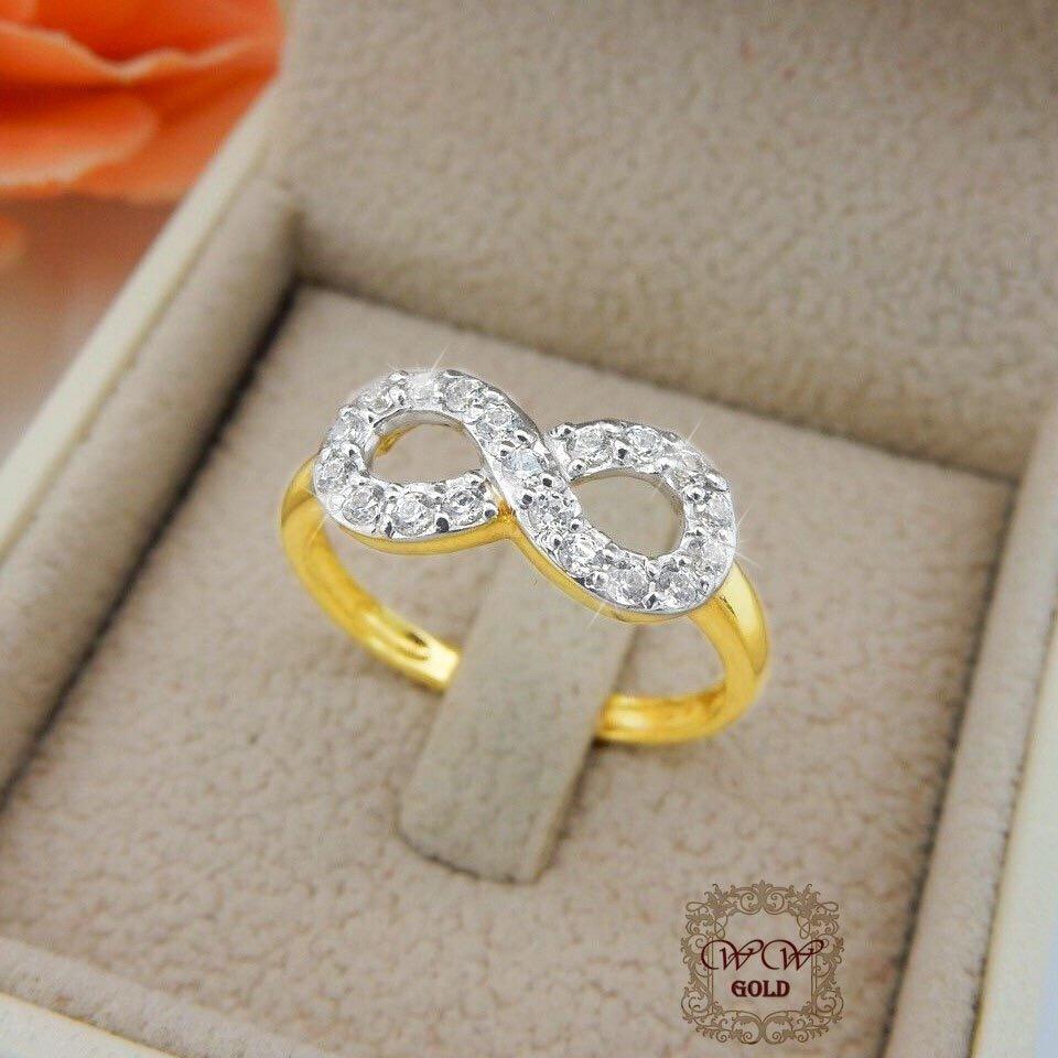 แหวนเพชร Infinity แบบที่ 1