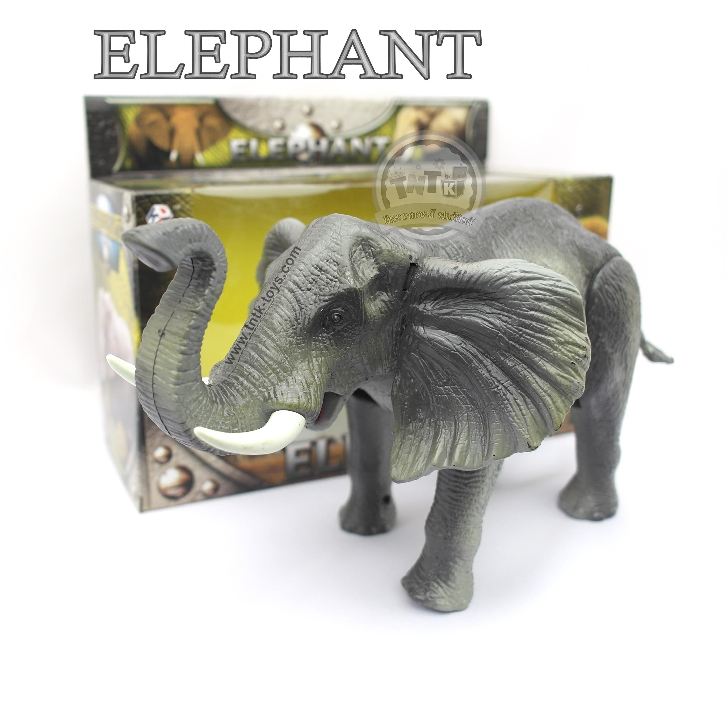 ช้างเดินได้มีเสียงร้อง