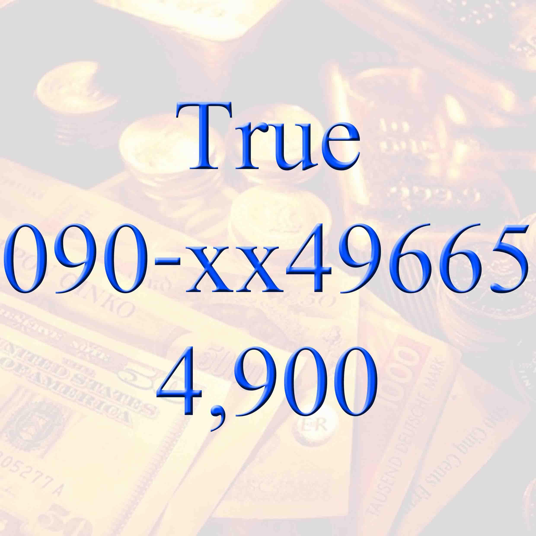 Sold out เบอร์มหาโชค 090-xx49665