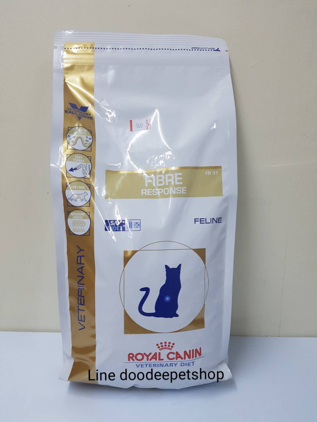 Fibre 2 kg.Exp.05/19 แมวโรคท้องผูก