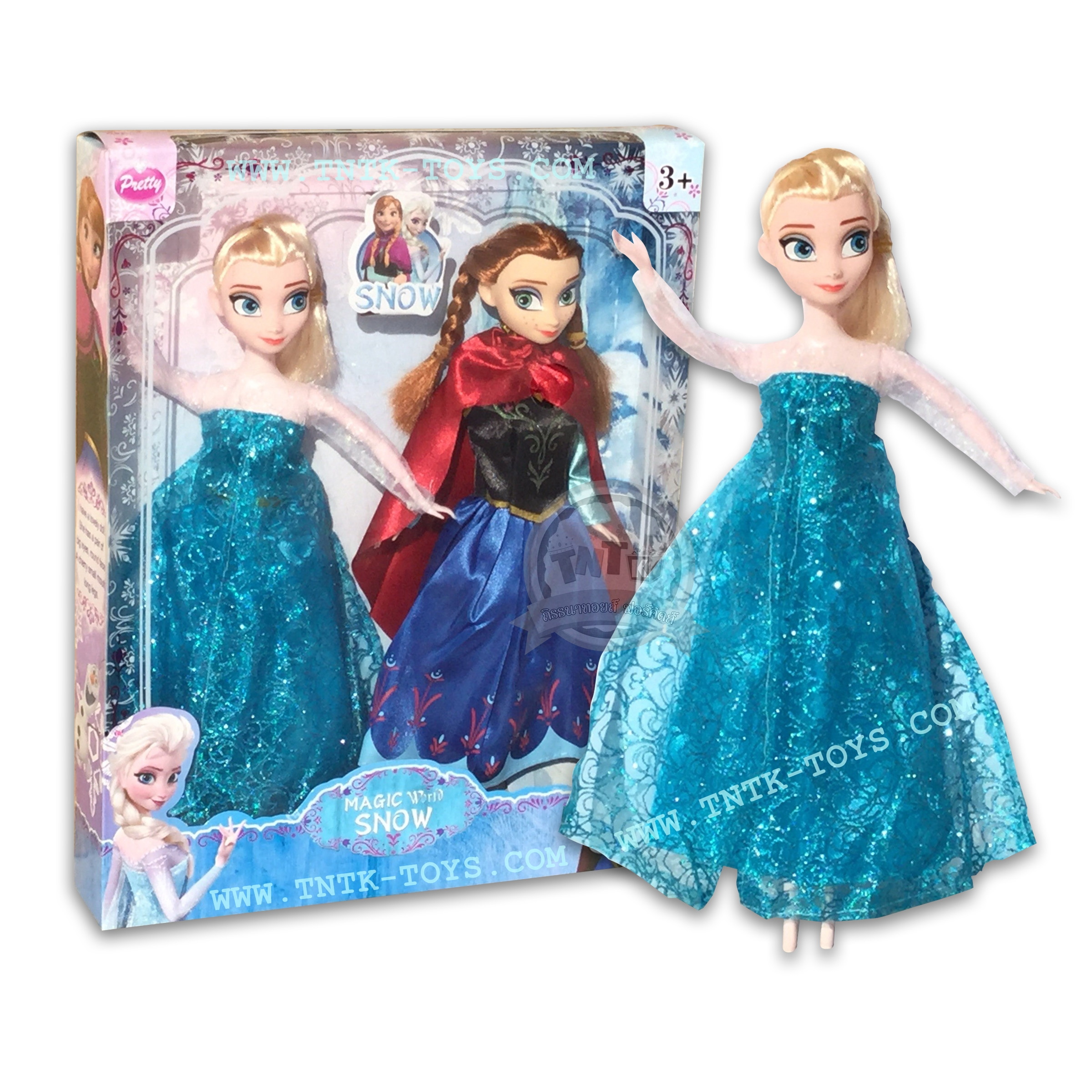 ตุ๊กตาโฟรเซ่น แอนนา & เอลซ่า