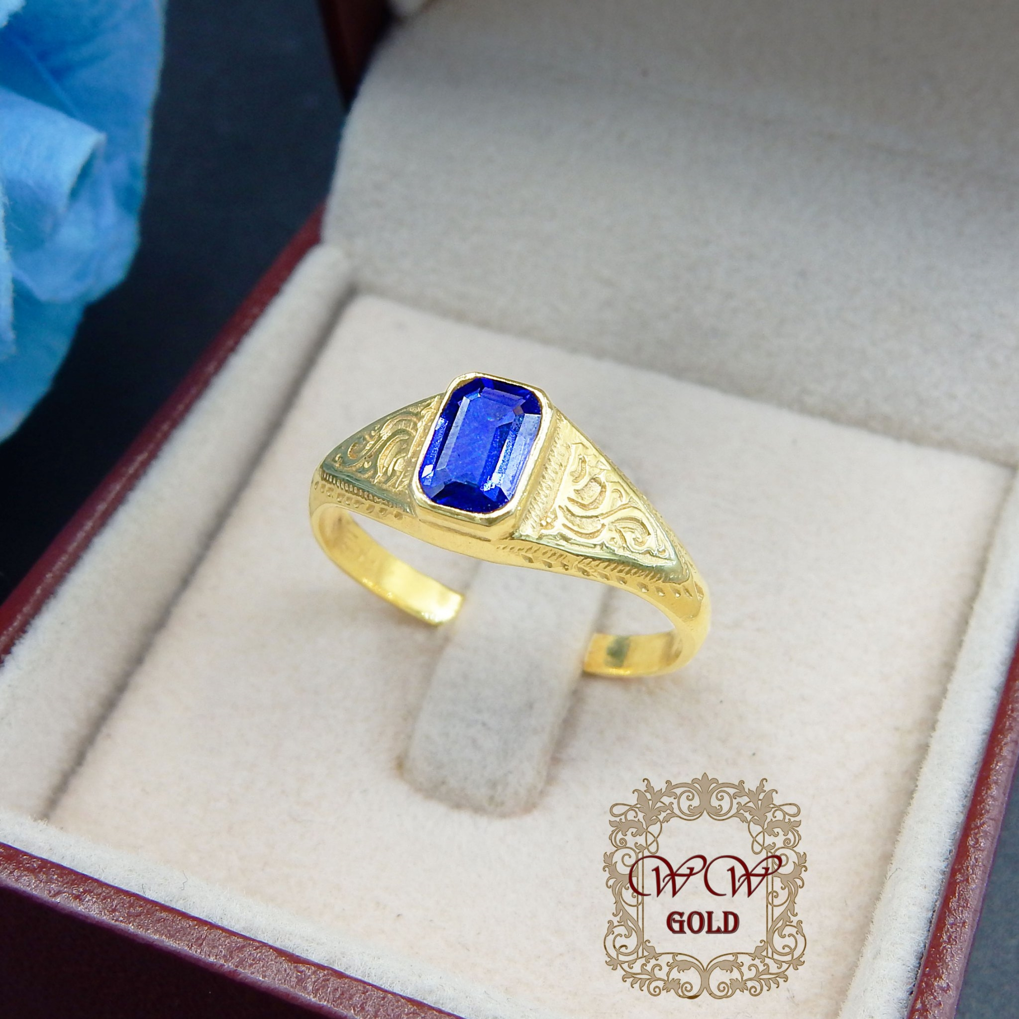 แหวนพลอยสีน้ำเงิน สำเนา