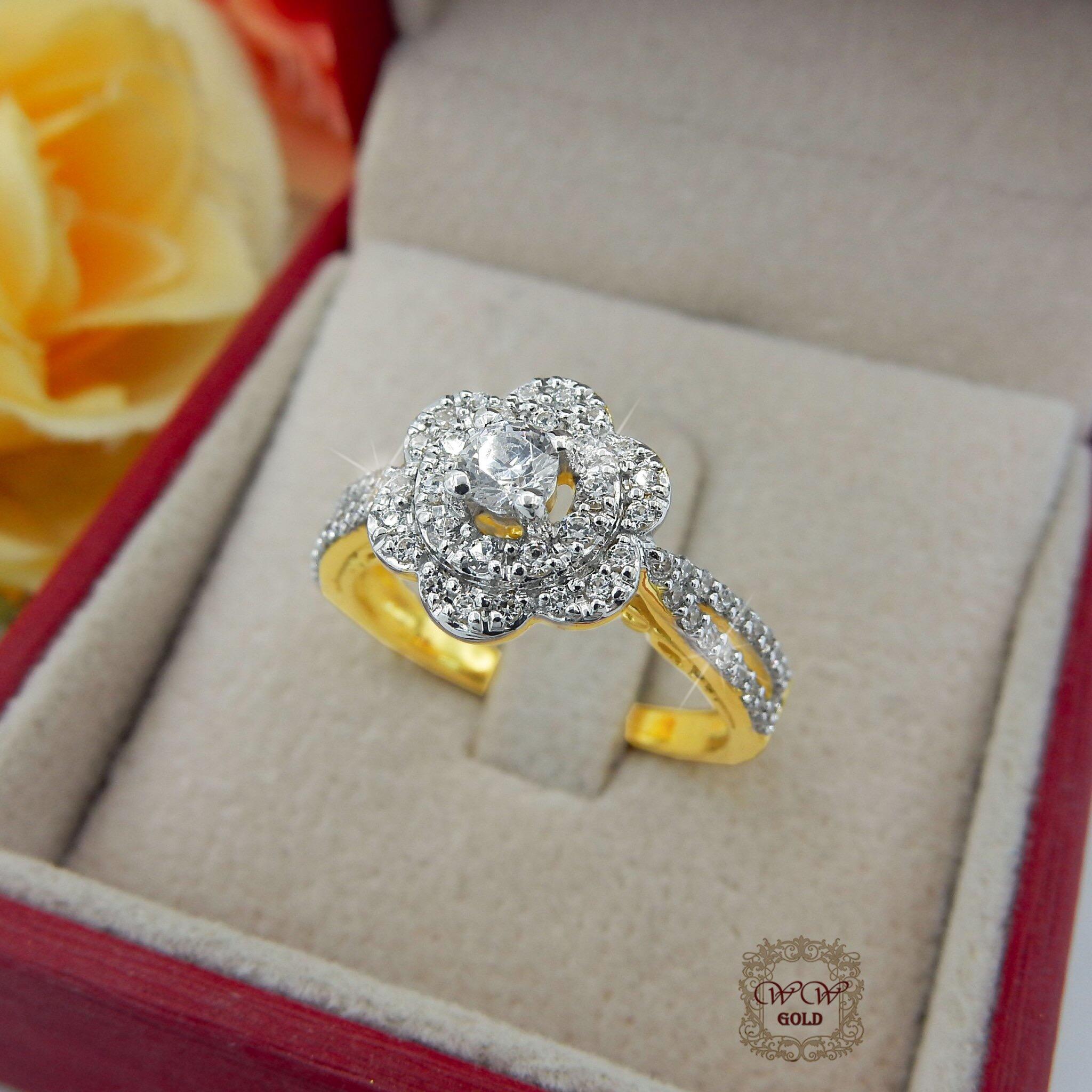 แหวนดอกไม้