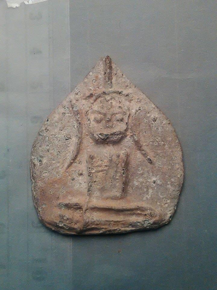 พระนางพญา กรุนาคาม เนื้อชินเงิน อ.ร่อนพิบูลย์ นครศรีธรรมราช 3500/-