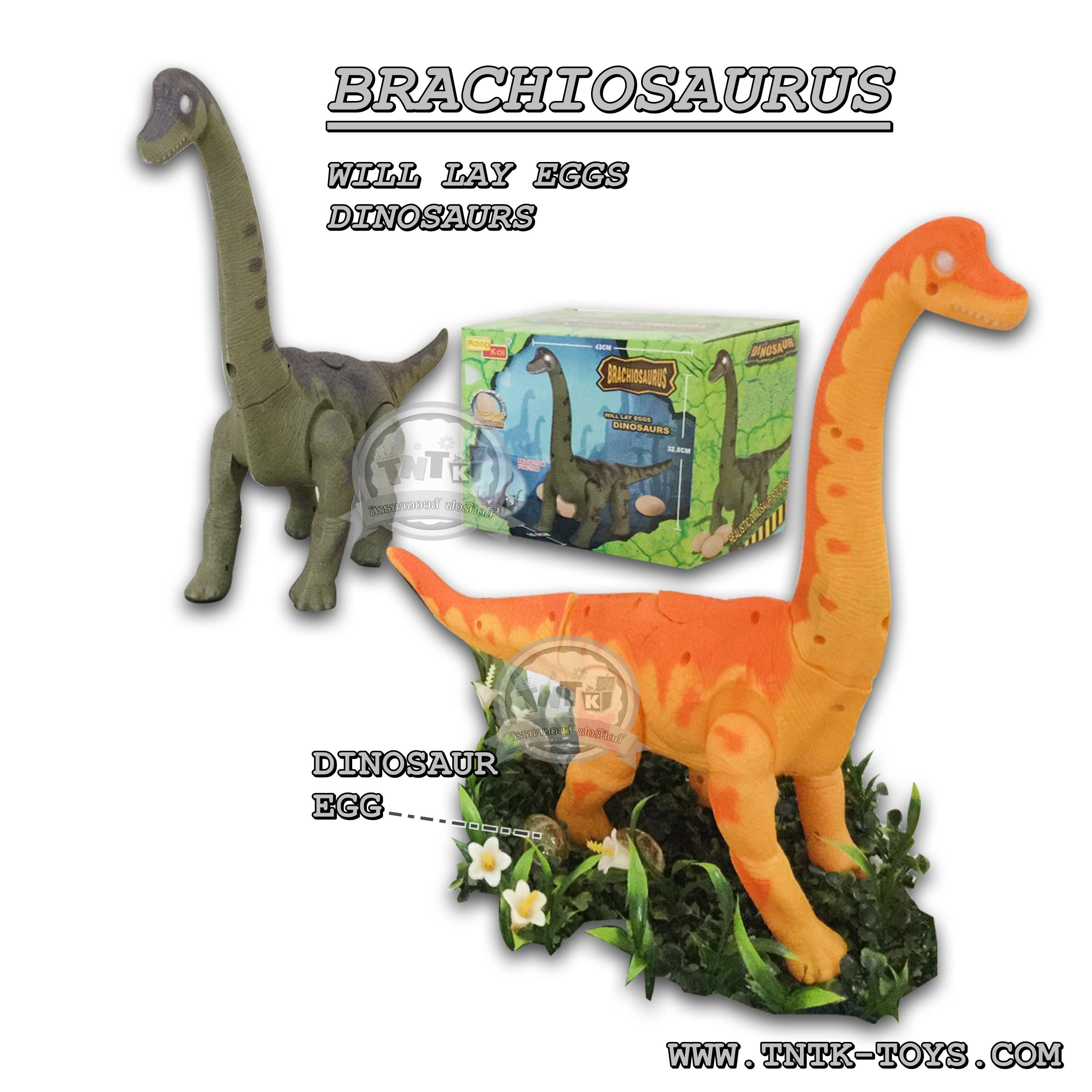 ไดโนเสาร์ออกไข่เดินได้มีเสียงร้อง