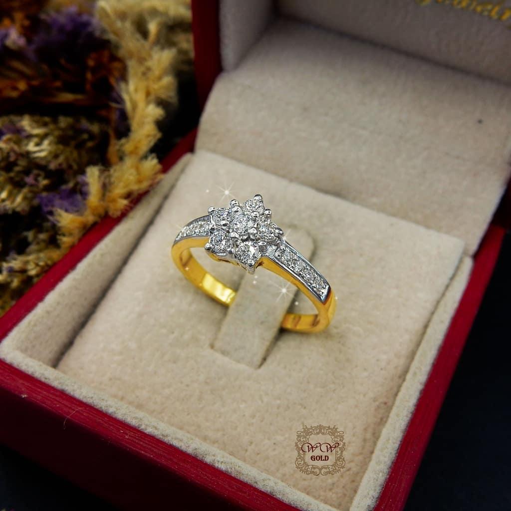 แหวนดอกพิกุลแบบ 2
