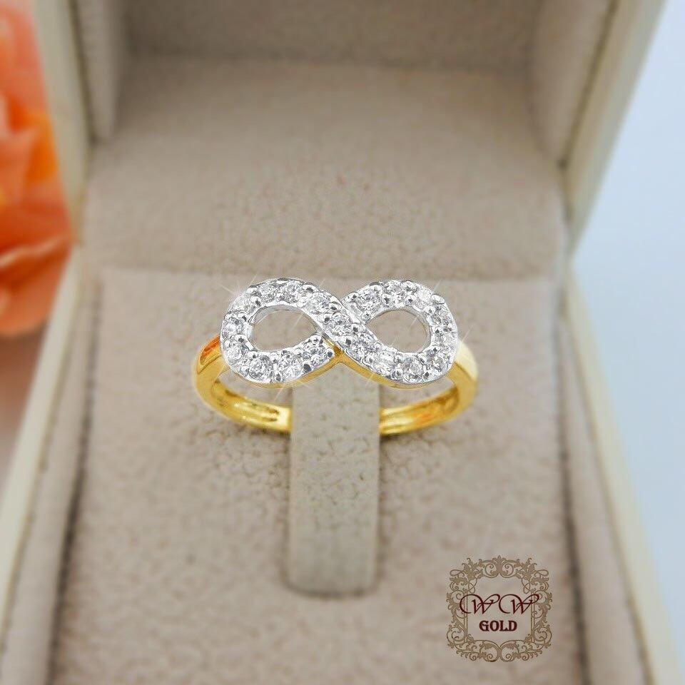 แหวนเพชรเบลเยี่ยม (Infinity)