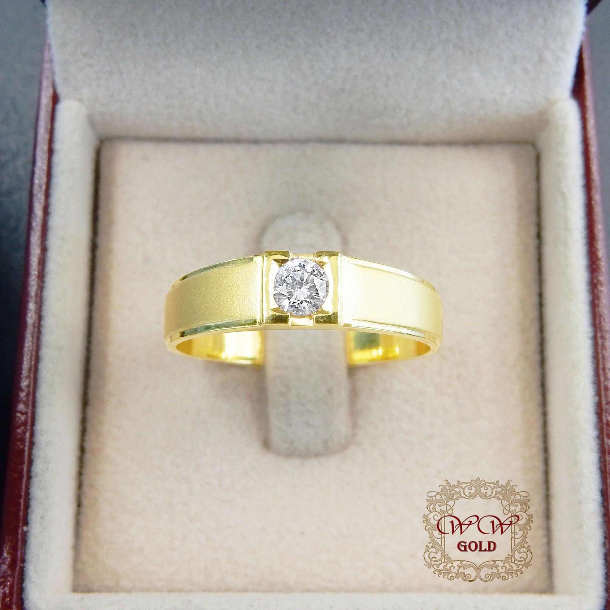 แหวนผู้ชาย (พ่นทราย)