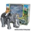 ช้างเดินได้มีคนขี่