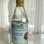 น้ำมันมะพร้าวบริสุทธิ์ สกัดเย็น ธรรมชาติ 100% เจ-เทสต์ ขนาด 450ml.