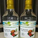 น้ำมันมะพร้าวบริสุทธิ์ สกัดเย็น ธรรมชาติ 100% Sz.250 มล. 2ขวดแพ็คคู่