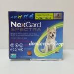 Nexgard spectra 7.5-15 kg. Exp.09/19