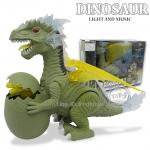 ไดโนเสาร์อุ้มไข่มีปีกเดินได้มีเสียงมีไฟ
