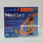 Nexgard spectra 30-60 kg. Exp.09/19
