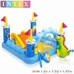 สระน้ำสวนสนุกปราสาทอัศวิน INTEX ฟรีค่าจัดส่ง EMS