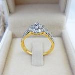 แหวนเพชรเบลเยียมแท้
