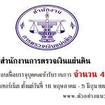 สำนักงานการตรวจเงินแผ่นดิน (สตง) เปิดสมัครสอบรับราชการ 49 อัตราตั้งแต่วันที่ 16 พฤษภาคม - 5 มิถุนายน 2560