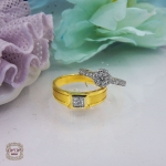แหวนคู่แต่งงาน แบบขายดี (เพชรเบลเยี่ยมแท้)
