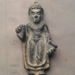 พระกรุ ศิลปทวารวดี เนื้อชิน เก่าๆ 1500/-