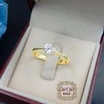 แหวนเพชรเบลเยี่ยม (เม็ดเดี่ยว 34 ตัง)