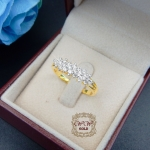 แหวนเพชรแถว (ดอกพิกุล)