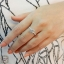 แหวนเพชรกลางขนาด 1 กะรัต(ประดับเพชรสวิสcz) thumbnail 4