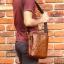 กระเป๋าสะพายไหล่ กระเป๋าถือ กระเป๋าหนังแท้ เหมาะสำหรับใส่ไอแพด