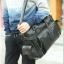 กระเป๋าสะพายข้าง หนัง PU สีดำ | LT23 thumbnail 10