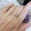 แหวนดีไซน์เพชรประกบสวยระยิบ (เพชรสวิส cz) thumbnail 4