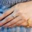 แหวนเพชรดอกพิกุล ก้านแหวนเพชร3แถว thumbnail 3