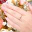 แหวนเพชรเบลเยี่ยม (เม็ดเดียว) thumbnail 4