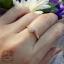 แหวนเพชรดอกไม้ก้านไขว้ thumbnail 4