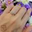 แหวนเพชรประกบเรียงสวยระยิบ (เพชรแท้เบลเยี่ยม) thumbnail 4