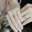 แหวนคู่แต่งงาน (เพชรสวิส cz เกรดพรีเมียม) thumbnail 2