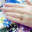 แหวนดีไซน์เพชรล้อมสวยระยิบ (เพชรสวิส cz) thumbnail 4