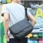 กระเป๋าสะพายข้าง หนัง PU สีดำ | LT11 thumbnail 9