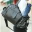 กระเป๋าสะพายข้าง หนัง PU สีดำ | LT23 thumbnail 13