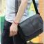 กระเป๋าสะพายข้าง หนัง PU สีดำ | LT11 thumbnail 10