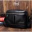 กระเป๋าสะพายข้าง หนัง PU สีดำ | LT28 thumbnail 9