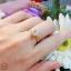 แหวนเพชรเม็ดเดียว 1 กะรัต (เพชรสวิส cz) thumbnail 4