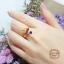 แหวนประดับพลอยหลากสี + เพชรสวิส cz thumbnail 4