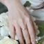 แหวนเพชรดีไซน์หัวชู สไตล์คลาสสิค (แหวนไขว้) thumbnail 4
