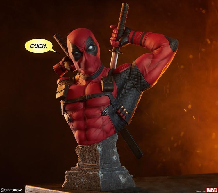"SIDESHOW Marvel Comics DEADPOOL 12/"" 1//6 Scale Figure Merc with a Mouth X-Men"