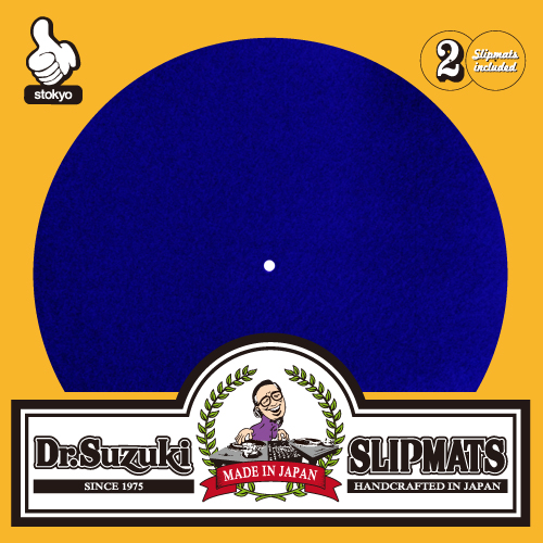 "Dr. Suzuki ""Mix Edition"" Slipmats (Blue)"