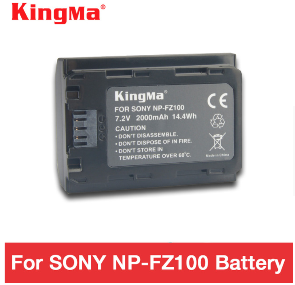 KingMa np fz100 battery NP-FZ100 battery 2000 mAh NPFZ100 for SONY