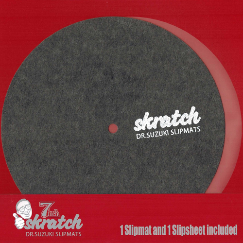 """Dr. Suzuki """"Skratch"""" edition 7"""" Slipmat"""