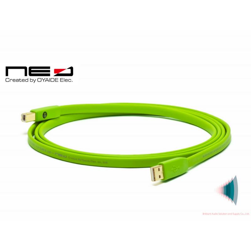 d+ USB Class B 2.0m
