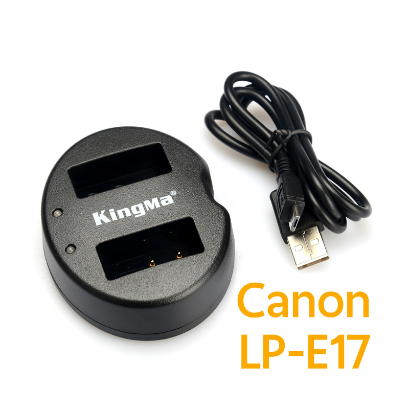 KingMa LP-E17 USB Dual Charger For Canon